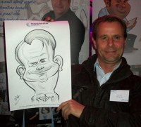 A Crewe Manchester Caricature Artist For Hire